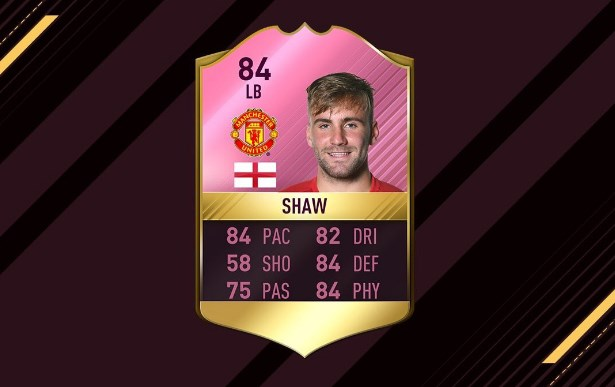 FUTTIES Winner Shaw