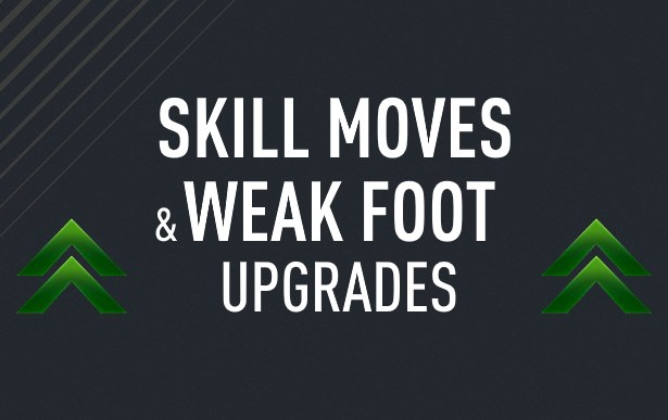 Skills & Weak Foot Upgrades!