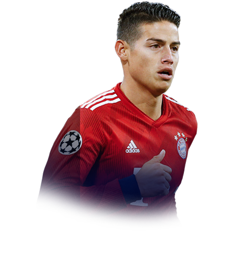 James Rodriguez 90 Road To The Final Fifa 19 Stats Prices Wefut