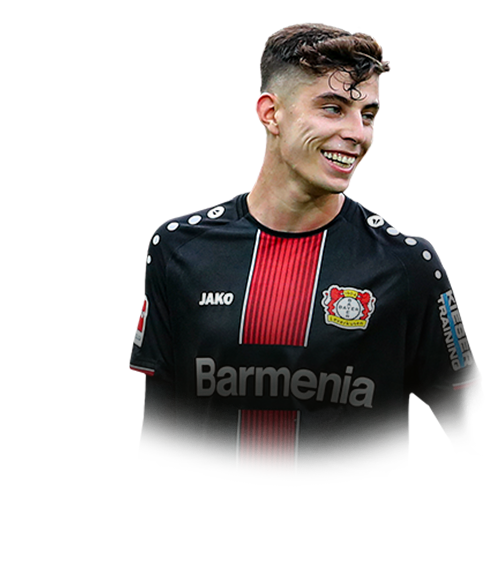 Kai Havertz - 86 1st In-Form Gold | FIFA 20 Stats & Prices ...